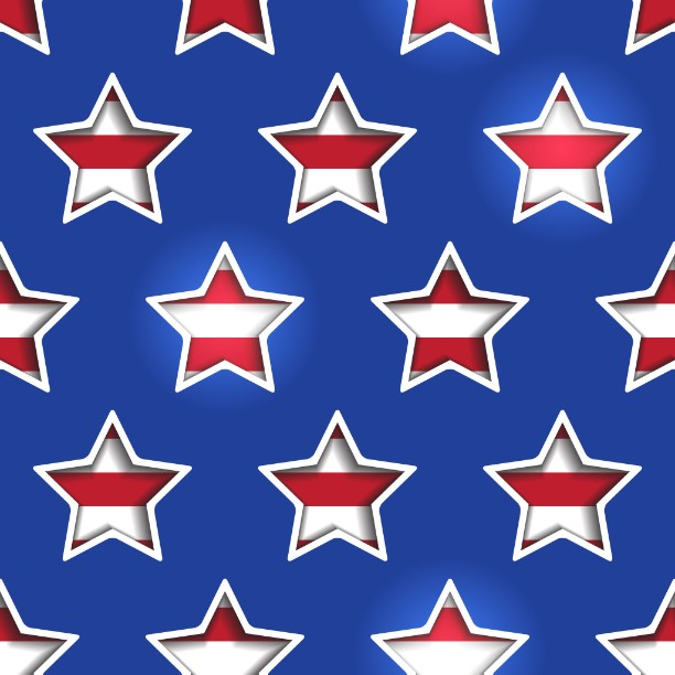 3D Stars and Stripes