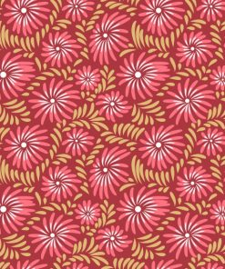 Abstract Floral Burst