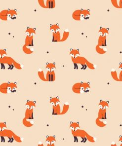 Cartoon Foxes