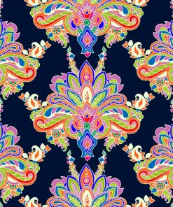 Colorful Geometric Paisley