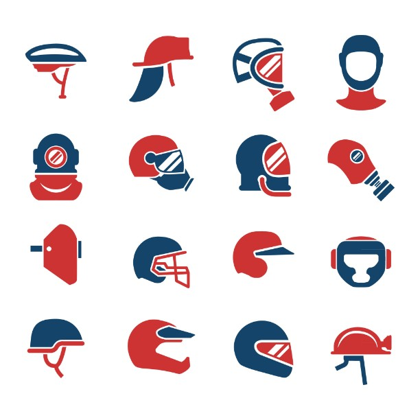 Different Helmets