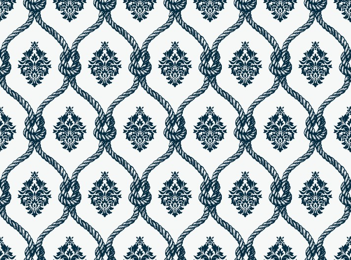 Fishnet Damask