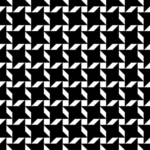 Geometric Houndstooth