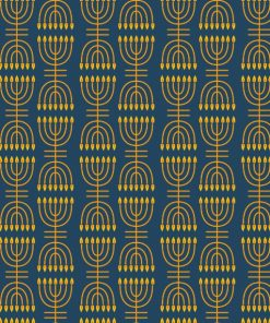 Menorah Pattern