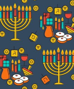 Menorahs and Gelt